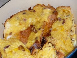 panetonne bread and butter pudding